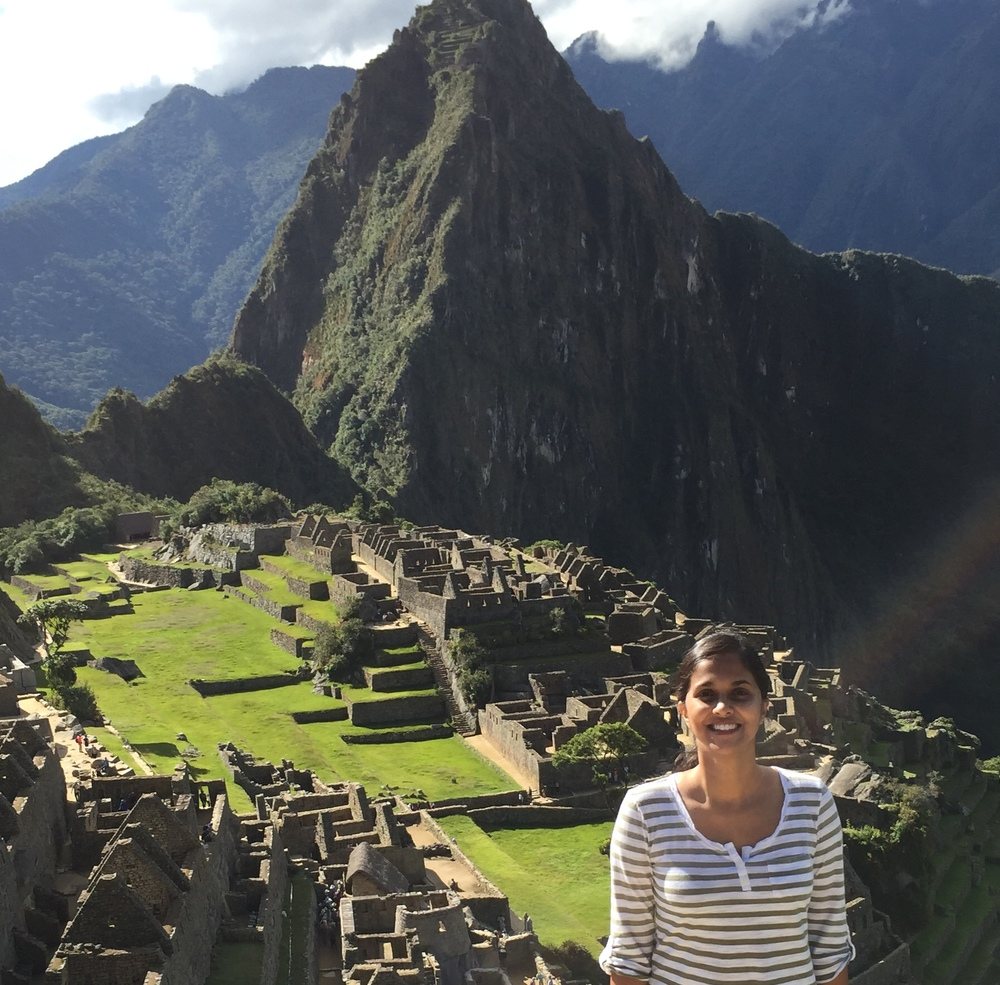 This summer, Shruti Rao (M2) hiked Machu Picchu in Peru.