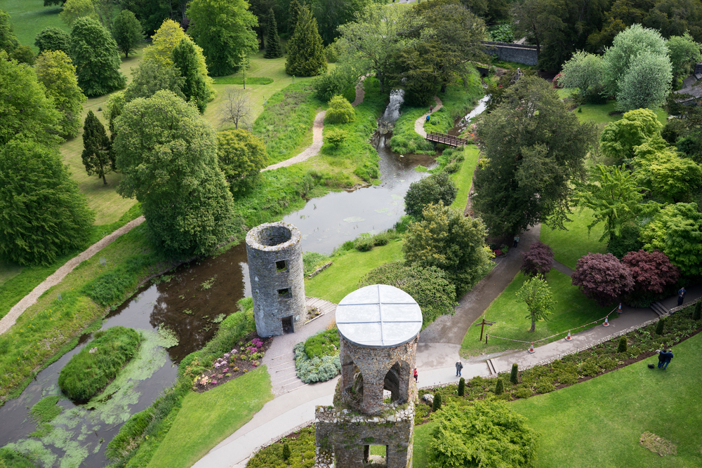 Jessica Nguyen (M2) traveled to Europe this summer. This is a view from the top of Blarney Castle in Ireland.