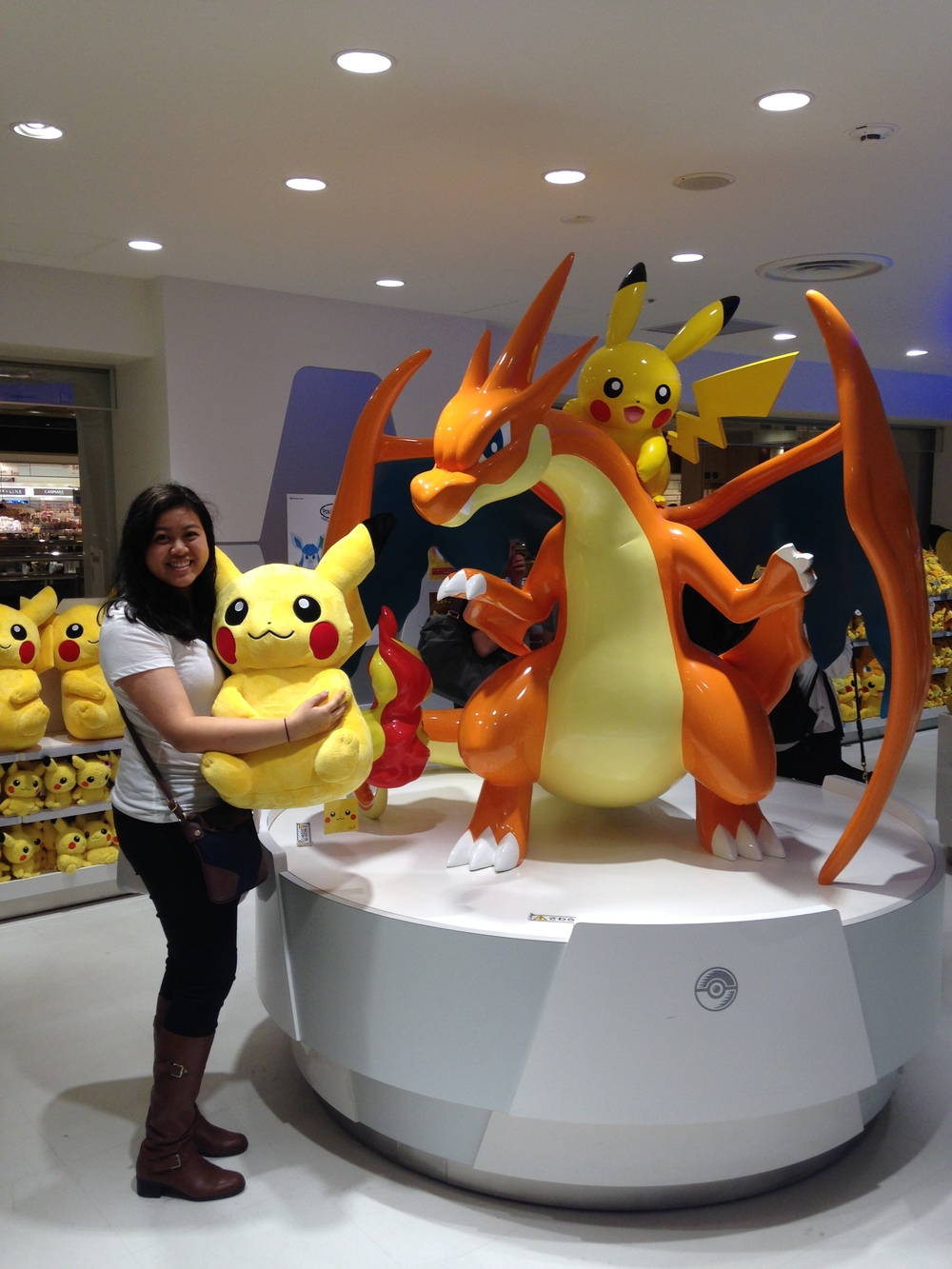 Lan Anh Van-Dinh (M2) spent three weeks traveling all around Japan this summer. This picture was taken at the Pokemon Center in Tokyo. It is one of the many stores dedicated to Pokemon fans, and it is filled with tons of merchandise from the popular franchise.