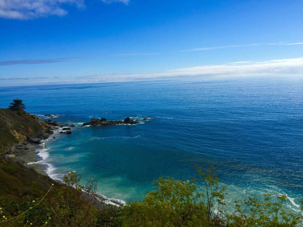 Katherine Luu (M2) spent this past summer on a road trip along the Californian coast. This is a photo she took at Big Sur, California.