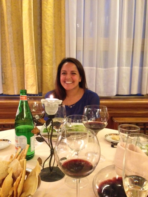 Cindy Roman (M1) traveled to Italy this summer, and visited a restaurant with her parents had longed to return to after twenty years. Upon arriving there, she also learned of her acceptance to the College of Medicine.