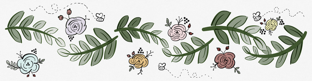 Header and footer illustrations by Nina Tran, M1
