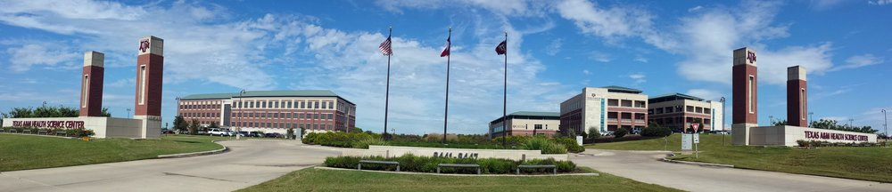 The Texas A&M University Health Science Center in Bryan, Tx. Photo by Dr. Xin Wu.