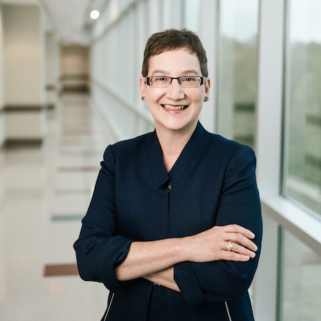 Carrie L. Byington, MD, d  ean of the Texas A&M College of Medicine, senior vice president of the Texas A&M University Health Science Center, and vice chancellor for health services of the Texas A&M University System