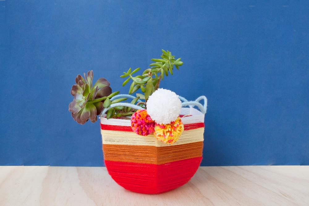 Kitiya Palaskas DIY woven basket