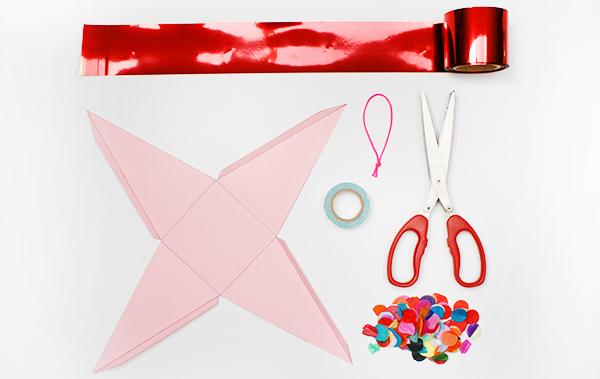 Kitiya Palaskas DIY Christmas piñata materials