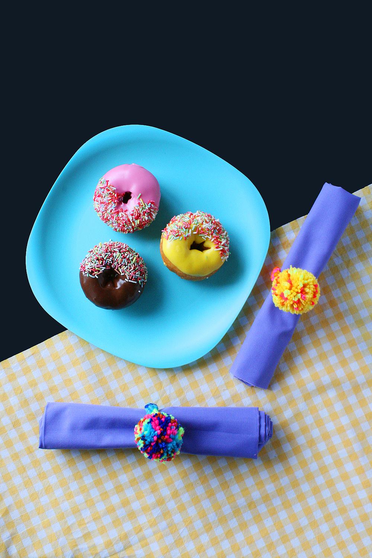 Kitiya Palaskas DIY woven napkin rings
