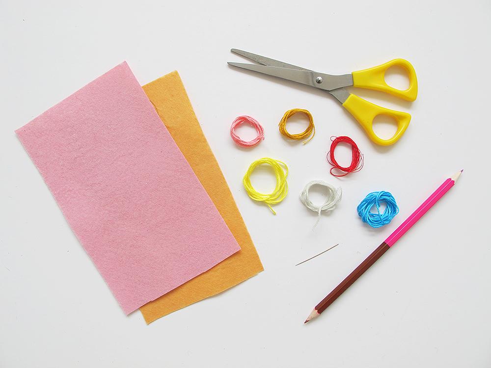 Kitiya Palaskas DIY Lapel Donut materials