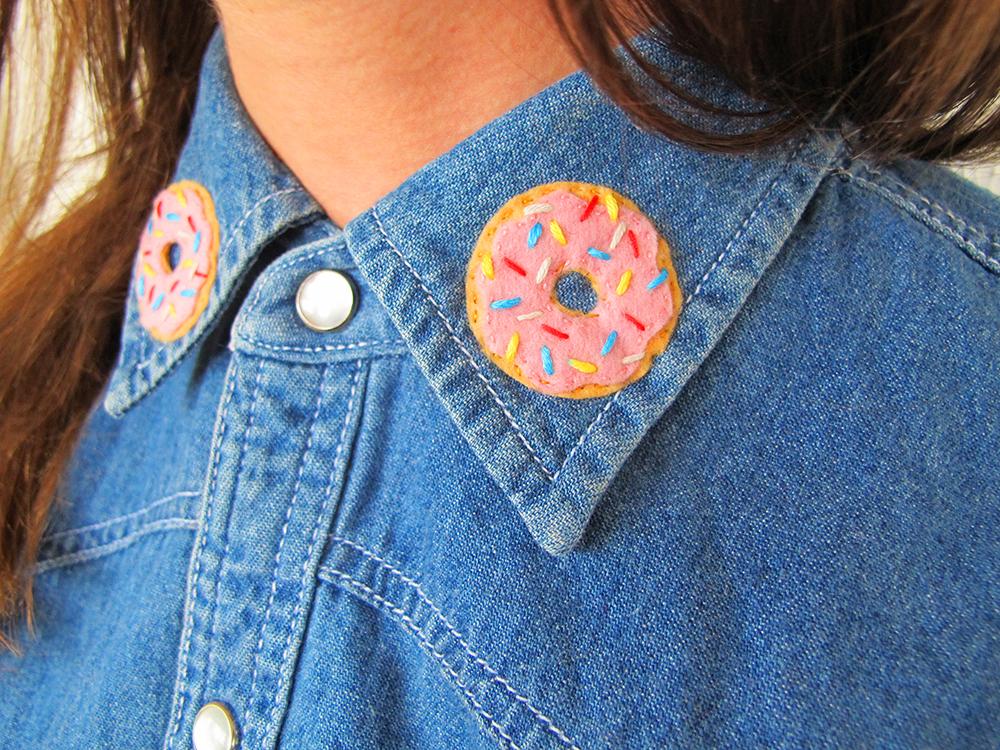 Kitiya Palaskas DIY Lapel Donut