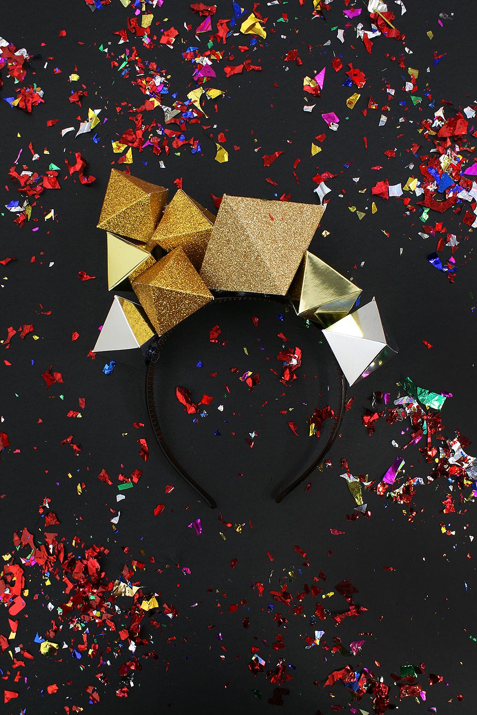 Paper Gemstone Crown Kitiya Palaskas