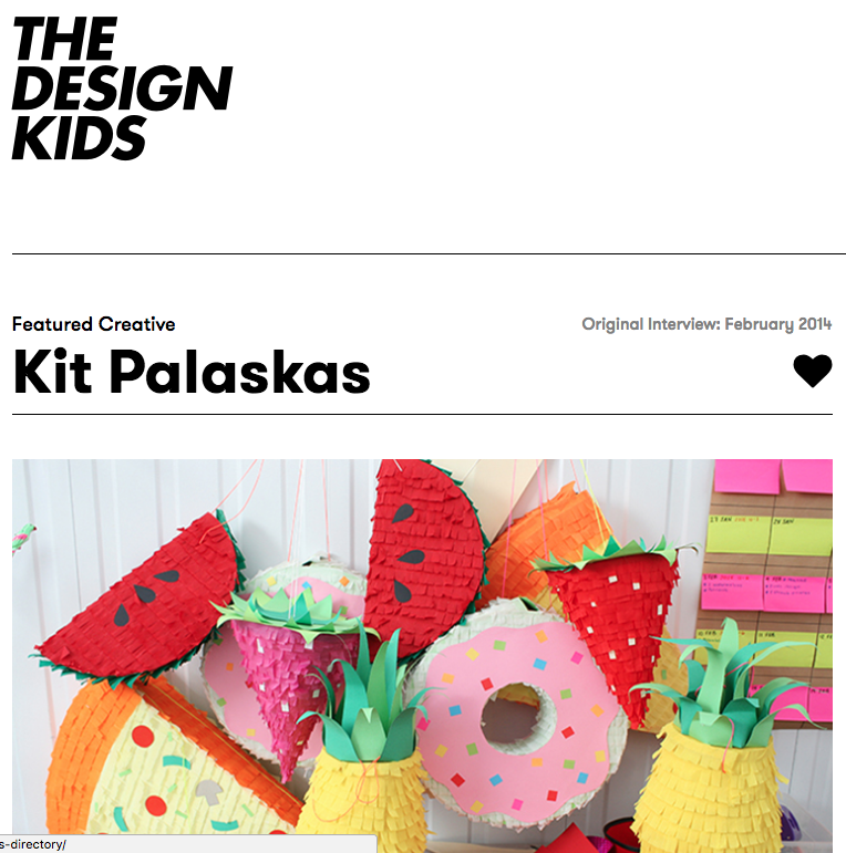 Kitiya Palaskas The Design Kids interview