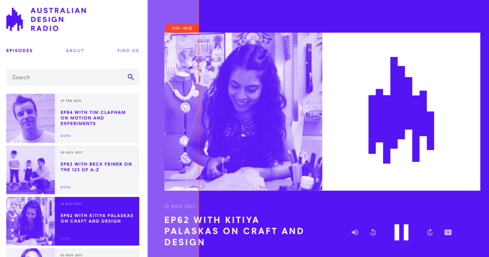 Kitiya Palaskas Aus Design Radio Podcast