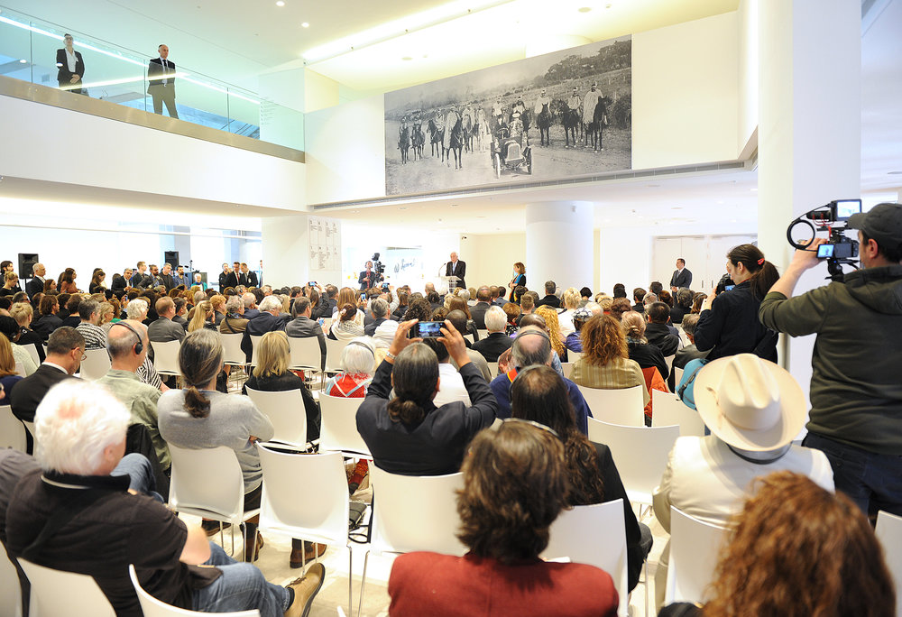Prokopis Pavlopoulos - Documenta14 opening Athens. image courtesy Harry Soremski.