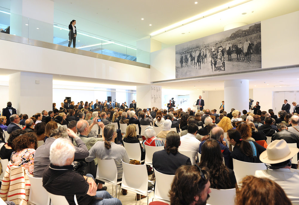 Bertram Hilgen Documenta14 Opening Athens image courtesy Harry Soremski