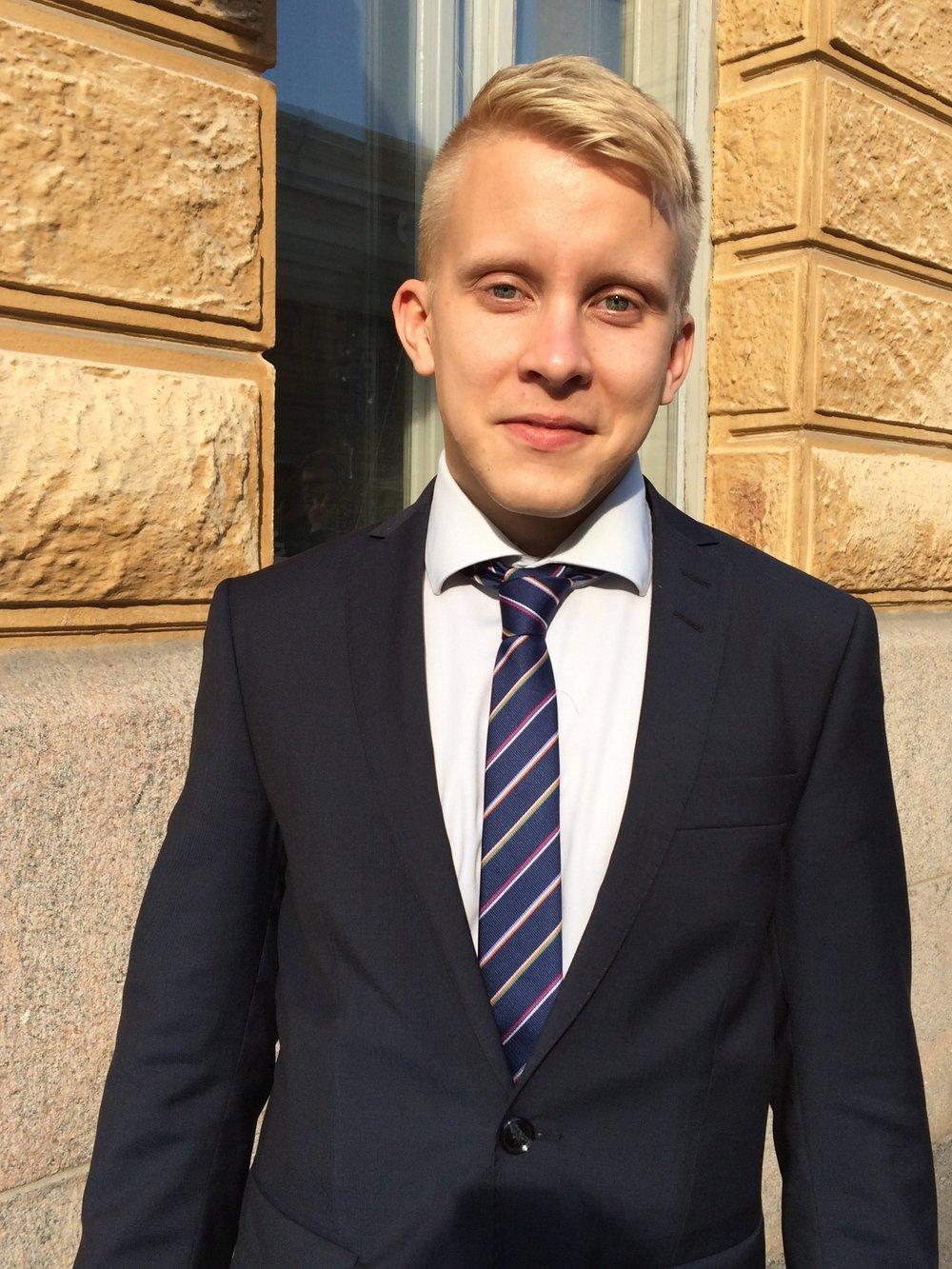 Mikko Hietikko East Office 30.10.2017