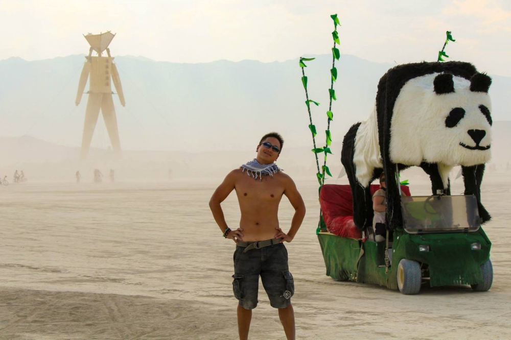 2014 Burning Man: Eric, Derpy and The Man