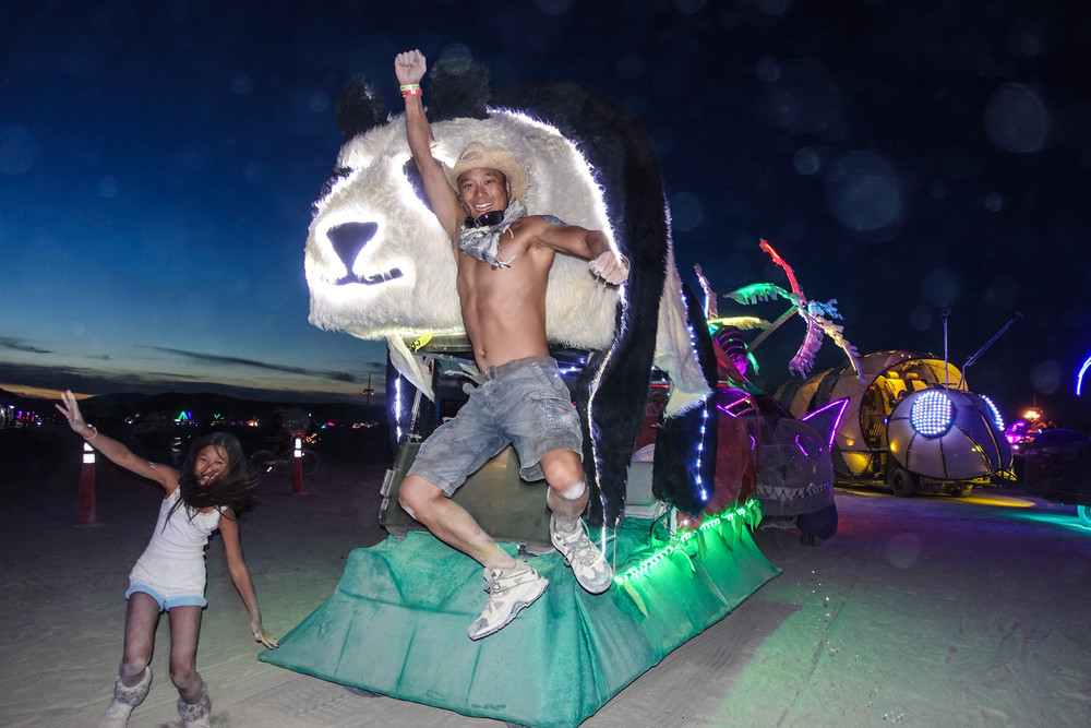 2015 Burning Man: Jamie, Eric and Derpy Version 2.0