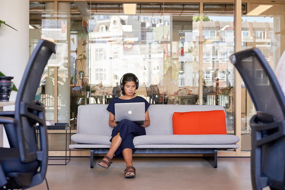 client:  Homerun  project: meet us & the office