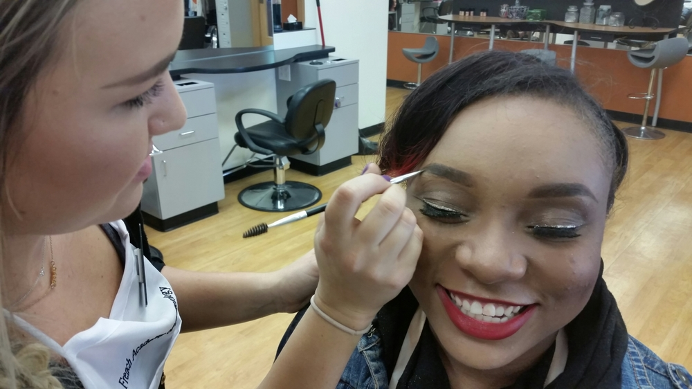 Cosmetology student eye liner.jpg