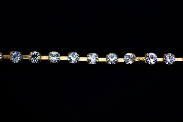 6mm Diamante Gold