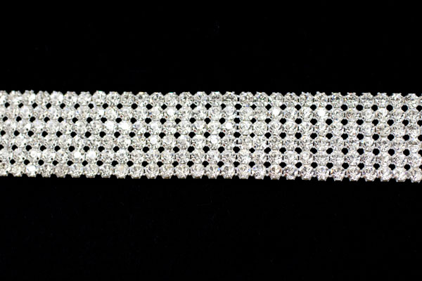 Diamante belt trim