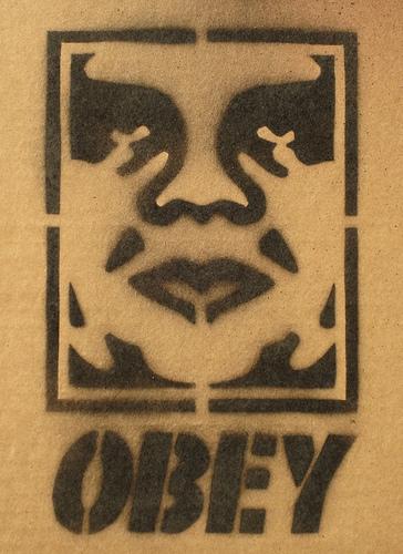 "Original André ""the Giant"" Stencil"