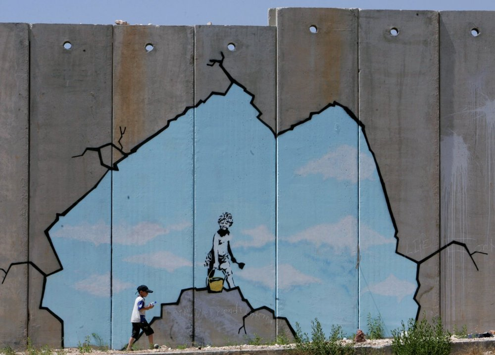 Banksy on Israel-Gaza barrier.jpg