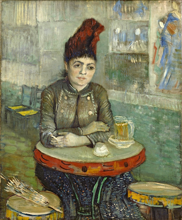 Agostina Segatori in Le Tambourin (1887), Van Gogh