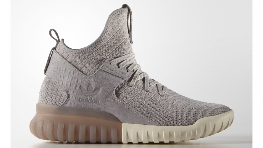 Adidas Originals TUBULAR X Sneakers hoog sand meta.domain