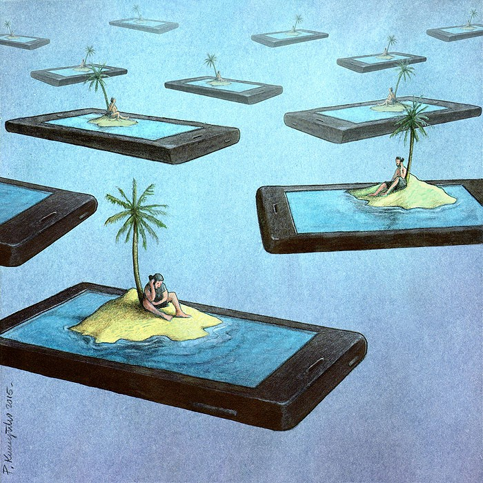 Pawel Kuczynski cartoon smartphone islands.jpg