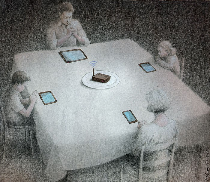 Pawel Kuczynski cartoon wifi for dinner.jpg