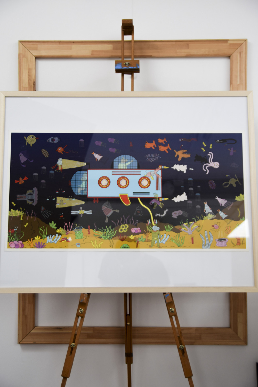 Submarine Print - Saša Ostoja