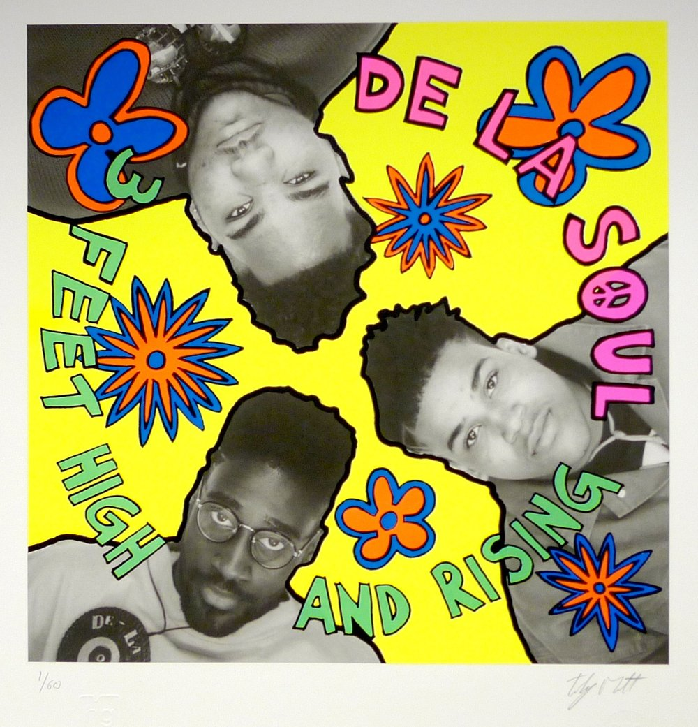 The original album cover for  3 Feet High and Rising.