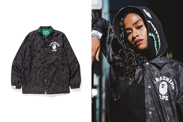 A ballin' coach jacket from the #heineken100 collab between #bape and #heineken. Check it out in the link in the bio.  #streetwear #style #streetstyle #fashion #picoftheday #instagood #instadaily #like #followme #fashion #heineken #bape #collbaoration #dope #litaf