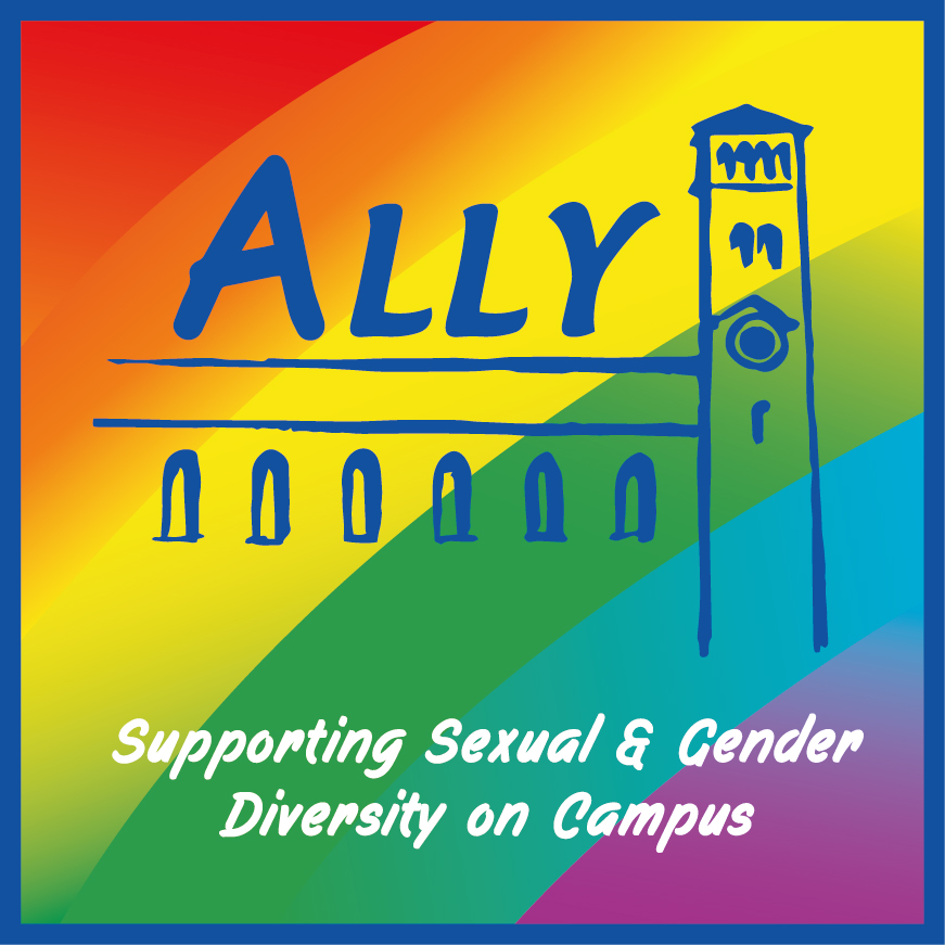 Ally supporting sexual and gender diversity on campus