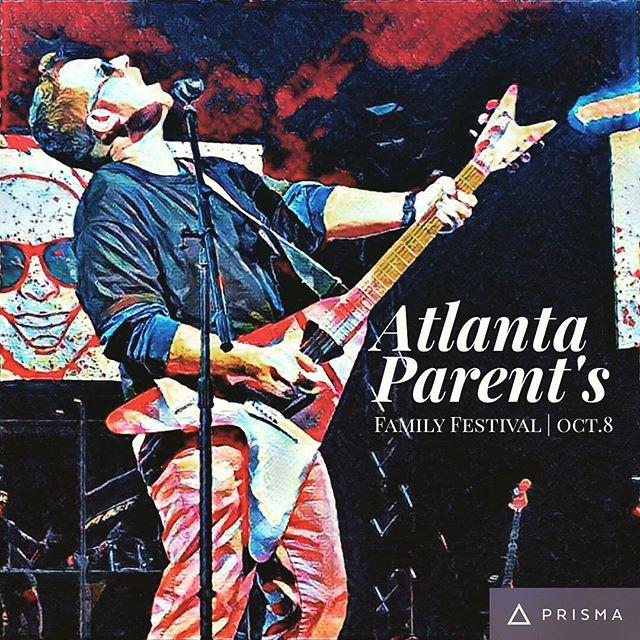 Only 2 more days until @atlantaparent Family Festival!! #letsgocrazy #atlanta #atl #atlantaparent #mommy #momlife #mom #dad #musician #music #guitar