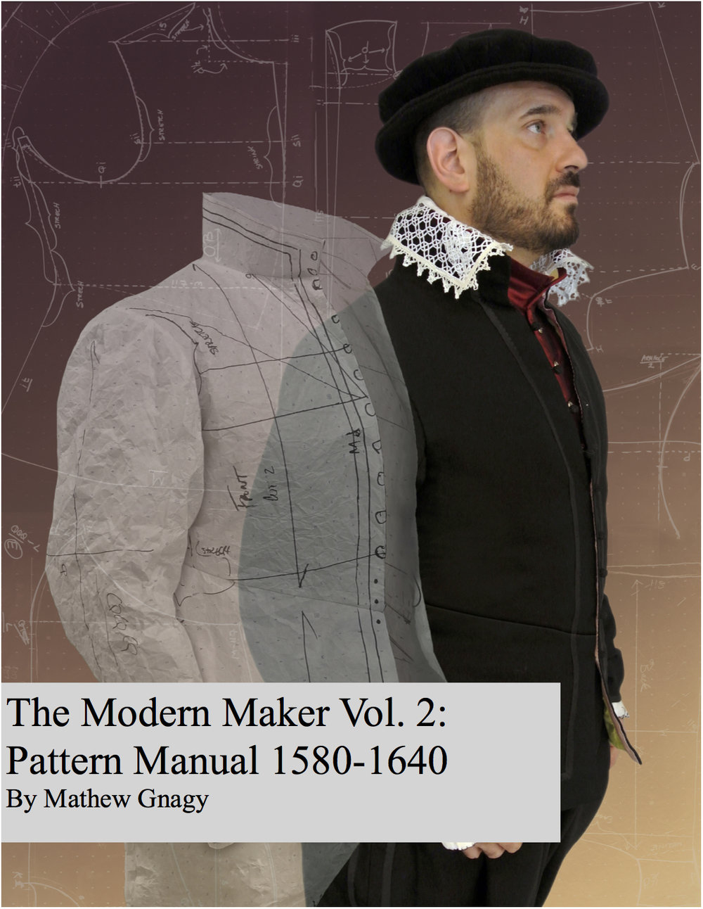 The cover of this 291 page pattern making book.