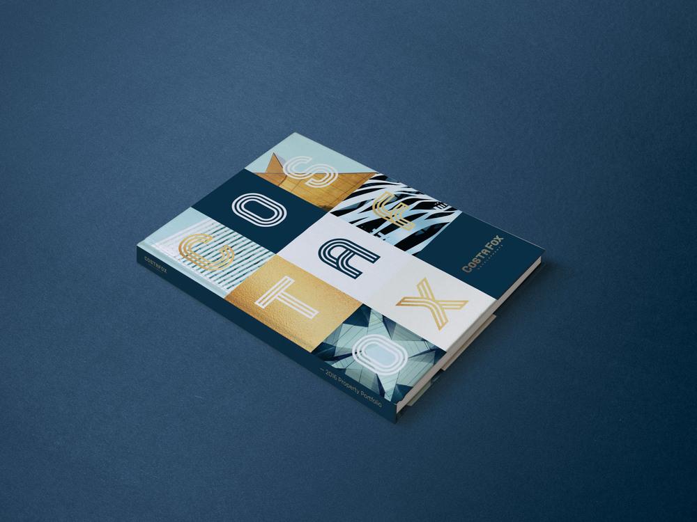 Branding book cover graphic design