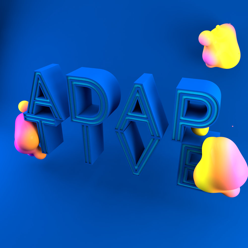 Cinema 4d artwork 3d typography animation graphic design