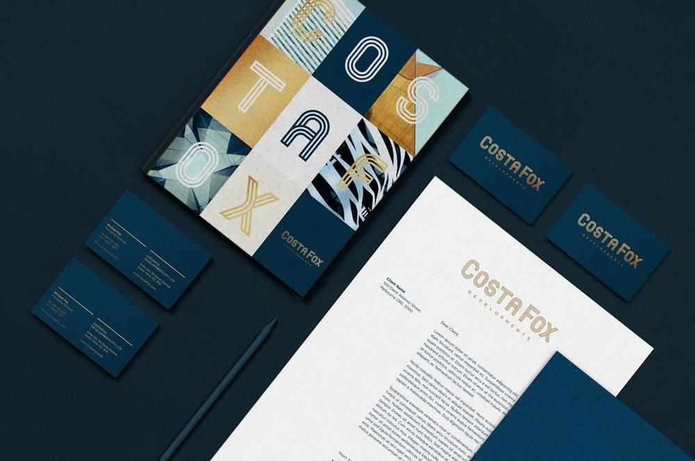 Branding stationary graphic design