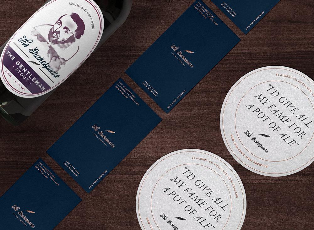 Shakespeare Brewery — Rebrand & Beer Branding — Cass Mackenzie