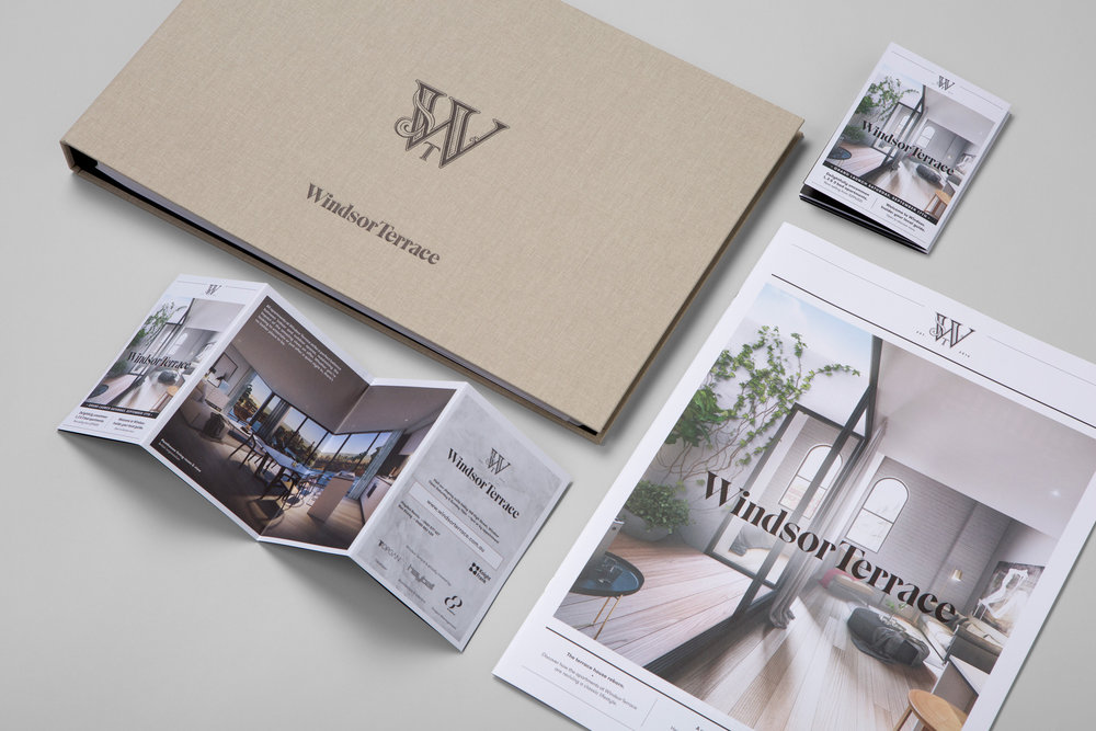 Property branding Melbourne graphic design