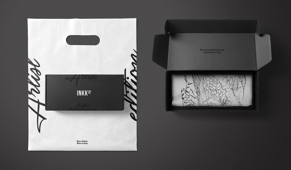 Streetwear Branding packaging graphic design