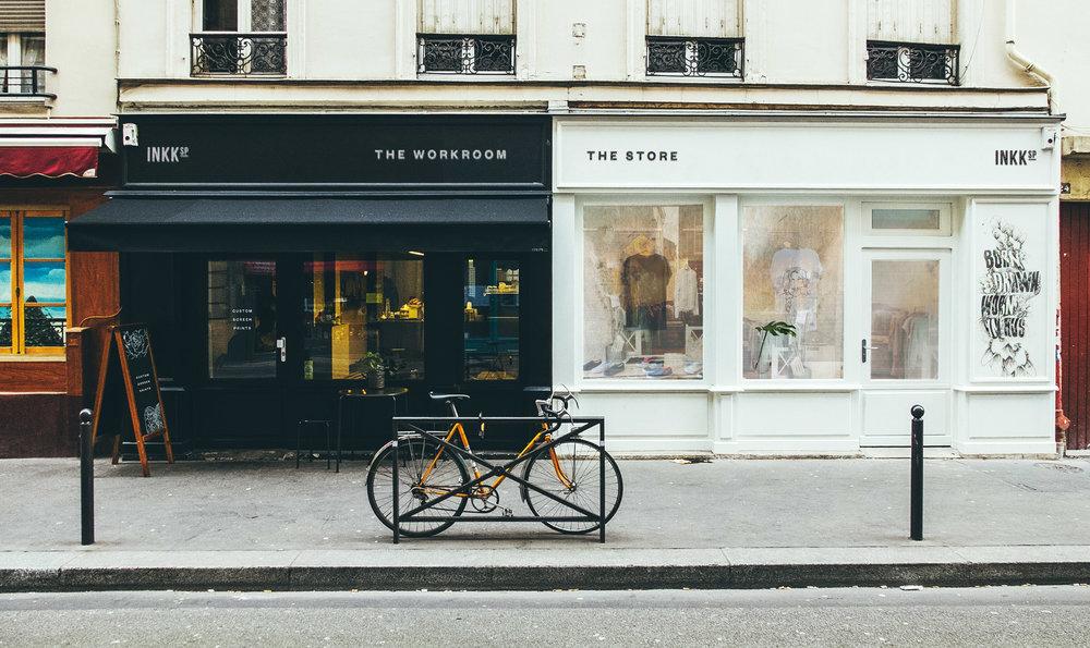 Streetwear Branding store signage graphic design