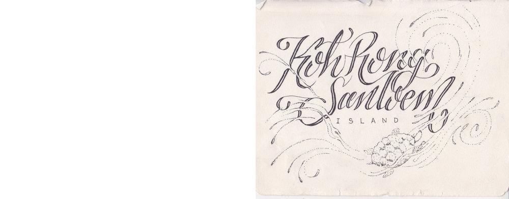 Hanlettering graphic design typography