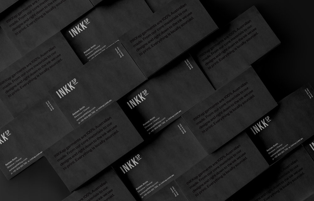 Business card graphic design stationary