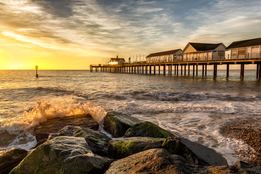 Southwold Pier in Suffolk!