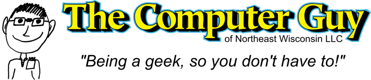The Computer Guy - Fast, Affordable, On-site computer repair serving the Appleton and Green Bay areas