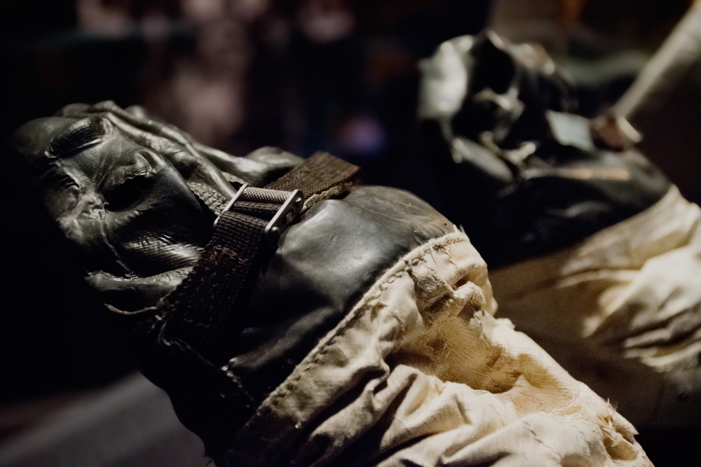 Neil Armstrong's gloves