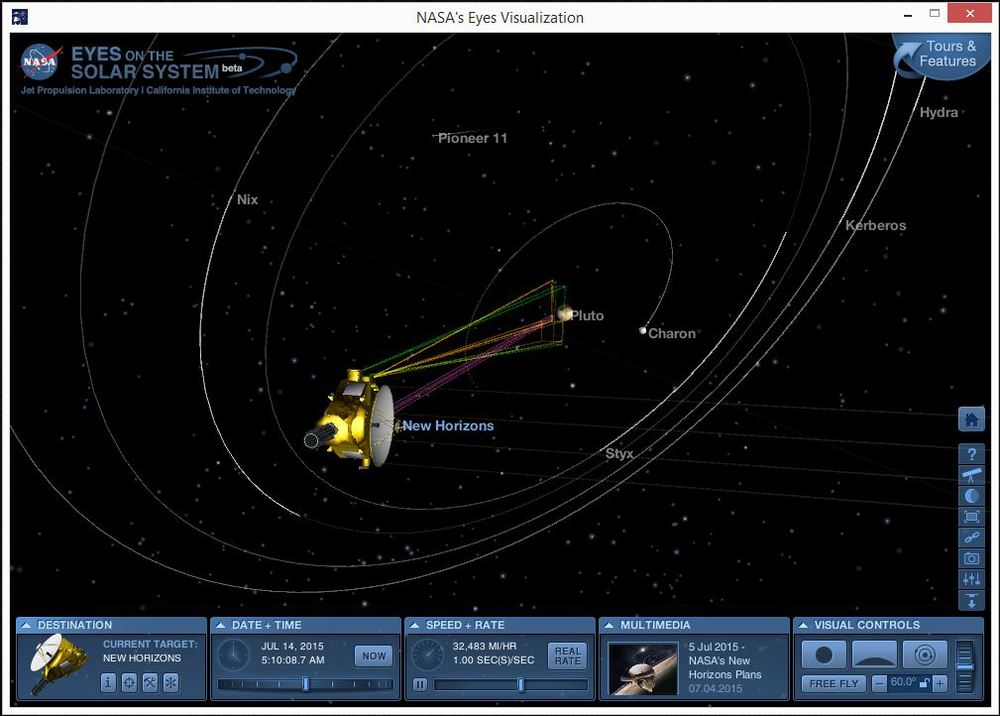 "Nasa ""Eyes on the Solar System"" App for PC or Mac"